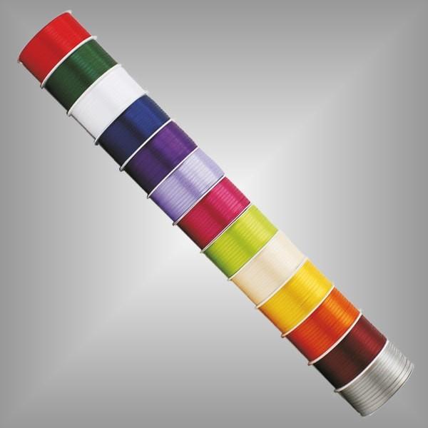 Doppelsatin 50m Rolle breite 3mm, farbig
