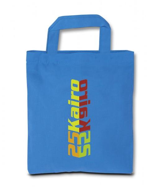 Baumwolltragetaschen 22x26cm, 1-farbig bedruckt