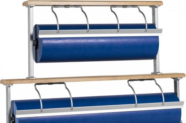 Papierabroller Aufsatz für Tischabroller aus Holz