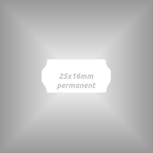 Preisauszeichner Etiketten 25x16mm, 10 Rollen