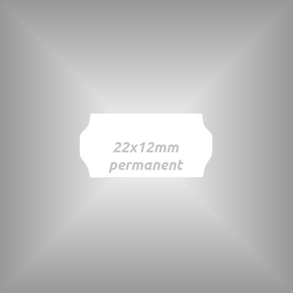 Preisauszeichner Etiketten 22x12mm, 10 Rollen