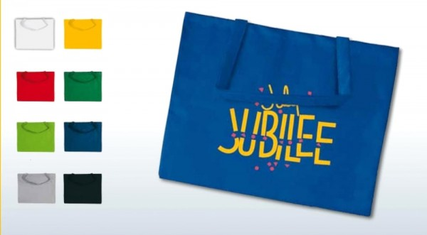 Textiltragetaschen 50x40cm, 1-farbig bedruckt